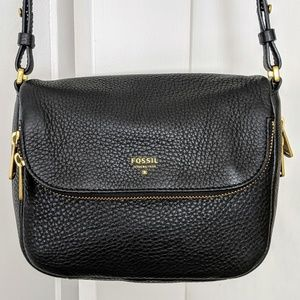 Fossil Preston small flap crossbody bag